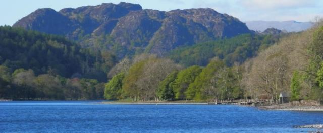 Yewdale Fell overlooking Coniston Water