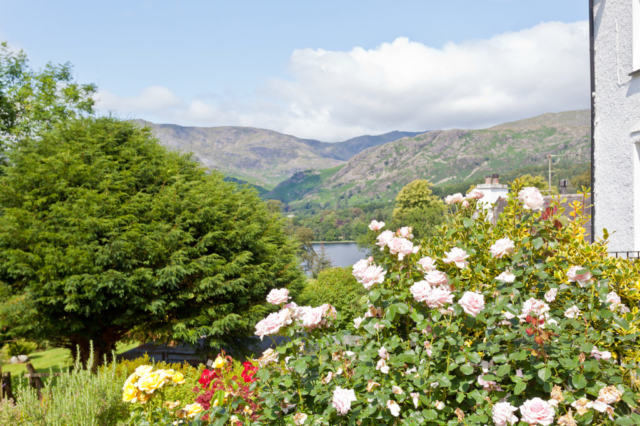 View over Coniston from Mole's Cottage